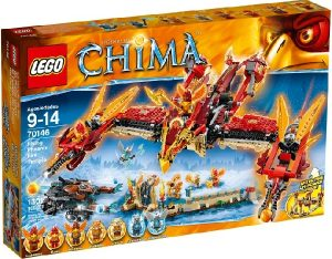 Lego Legends of Chima 70146 Lentävän Feeniksin Tulitemppeli