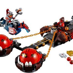Lego Nexo Knights 70314 Petojen Herran Kaaosvaunut