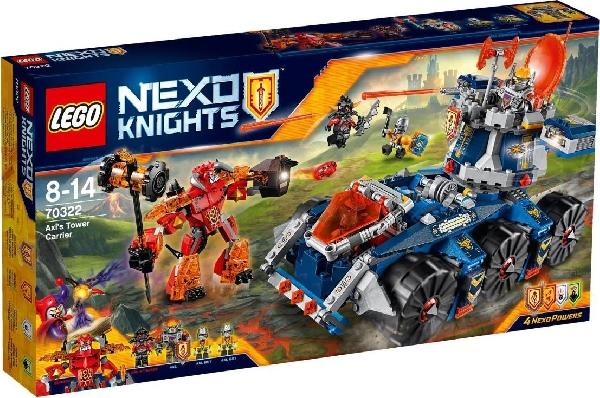 Lego Nexo Knights 70322 Axlin Tornitankki