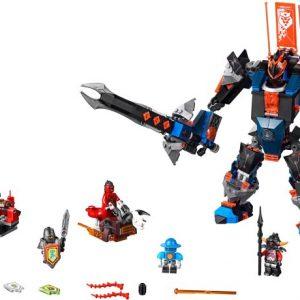 Lego Nexo Knights 70326 Musta Ritari Robotti