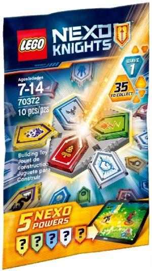 Lego Nexo Knights 70372 Nexo Yhdistelmävoimat
