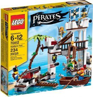 Lego Pirates 70412 Sotilaiden Linnake