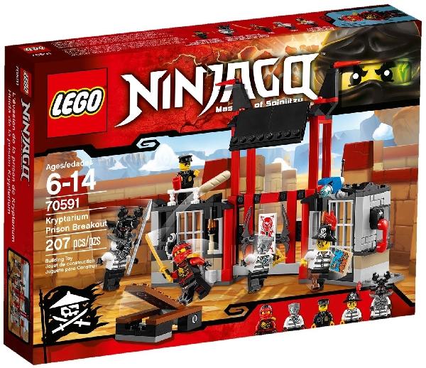 Lego Ninjago 70591 Pako Kryptarium -Vankilasta