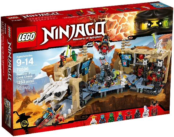 Lego Ninjago 70596 Samurai X ja Kaaoksen Luola