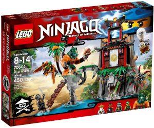 Lego Ninjago 70604 Tiikerilesken Saari