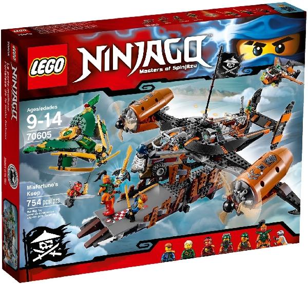 Lego Ninjago 70605 Epäonnen Torni