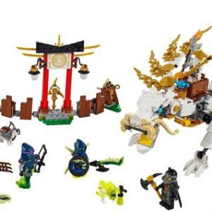 Lego Ninjago 70734 Mestari Wu Lohikäärme