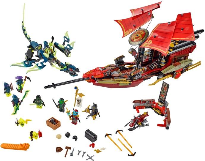 Lego Ninjago 70738 Kohtalon Aluksen Viimeinen Lento