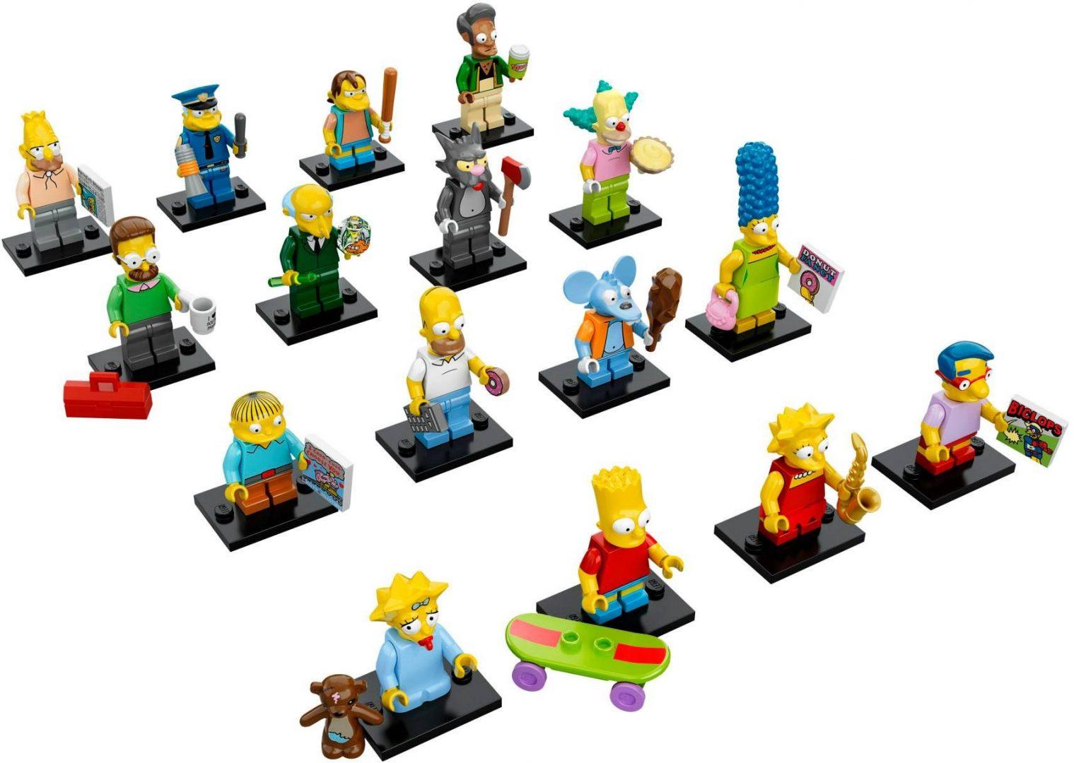 Lego Simpsons 71005 Minifiguuri 16 kpl