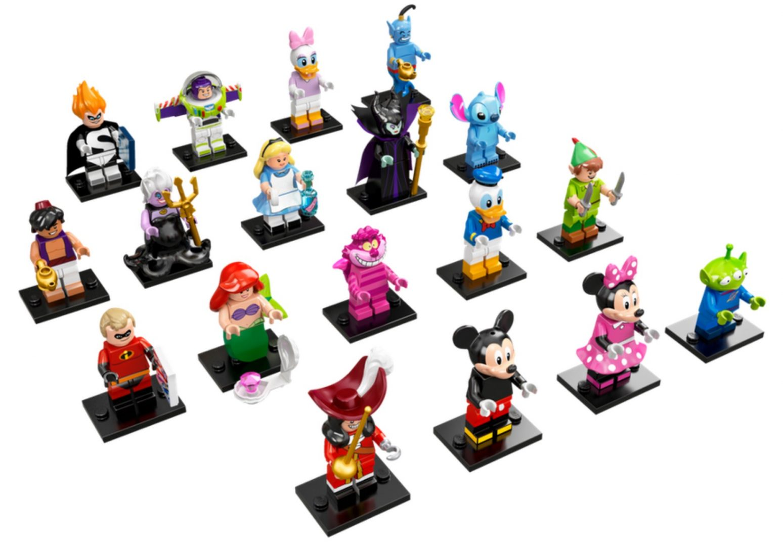 Lego Disney Minifigures 71012