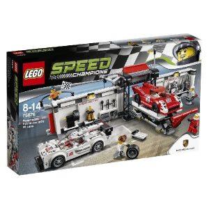 Lego Speed Champions 75876 Porsche 919 Hybrid ja 917K -Varikkokaista