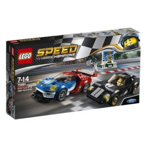 Lego Speed Champions 75881 2016 Ford GT ja 1966 Ford GT40