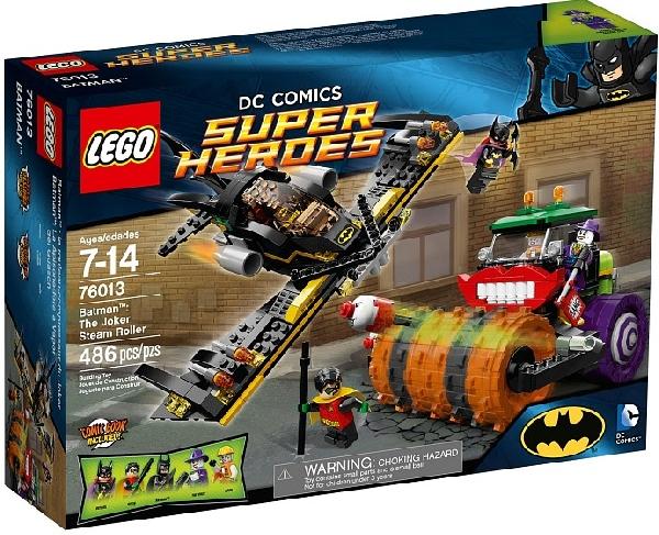 Lego Super Heroes 76013 Batman - Jokerin Tiejyrä