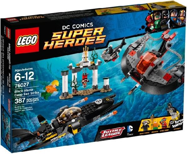 Lego Super Heroes 76027 Black Mantan Syvänmerenisku