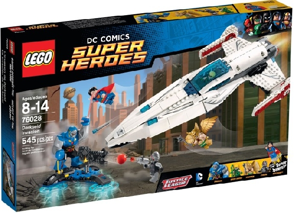 Lego Super Heroes 76028 Darkseidin Hyökkäys