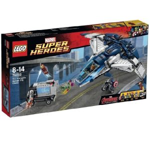 Lego Super Heroes 76032 The Avengers Quinjet Chase