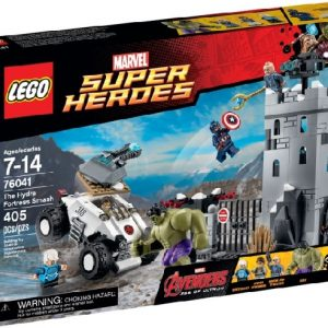 Lego Super Heroes 76041 Hydran Linnoituksen Murskaaminen