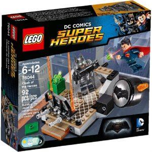 Lego Super Heroes 76044 Sankarien Yhteenotto