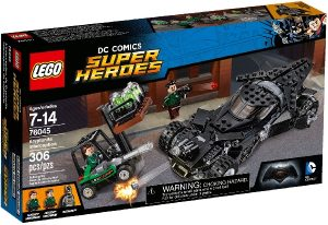 Lego Super Heroes 76045 Kryptoniittisieppaus