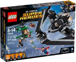 Lego Super Heroes 76046 Oikeuden Sankarit : Taistelu Taivaalla