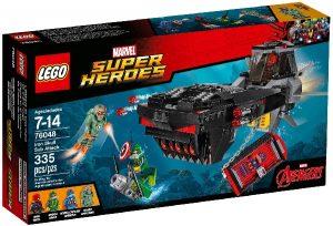 Lego Super Heroes 76048 Rautakallon Hyökkäys Pinnan Alla
