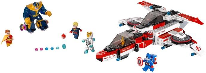 Lego Super Heroes 76049 Avenjet -Avaruustehtävä