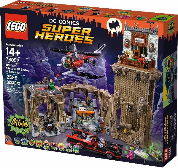Lego Super Heroes 76052 Batman Classic TV Series - Batcave