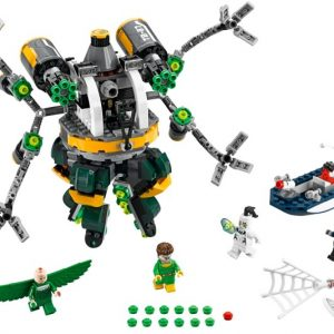 Lego Super Heroes 76059 Spider-Man : Tohtori Mustekalan Lonkeroansa