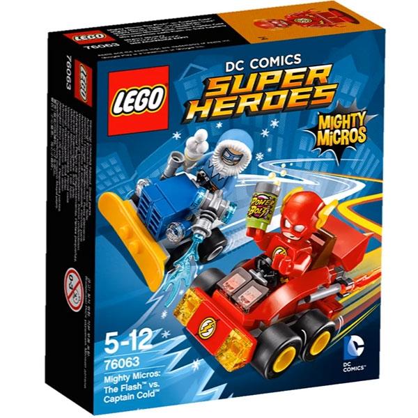 Lego Super Heroes 76063 Mighty Micros : Salama Vastaan Kapteeni