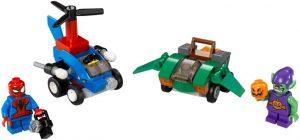 Lego Super Heroes 76064 Mighty Micros : Spider-Man Vastaan Vihreä Menninkäinen