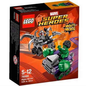 Lego Super Heroes 76066 Mighty Micros : Hulk Vastaan Ultron