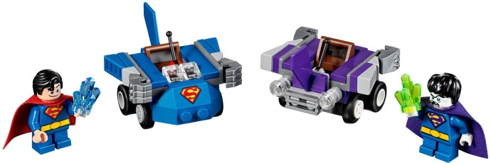 Lego Super Heroes 76068 Mighty Micros : Superman vs. Bizarro