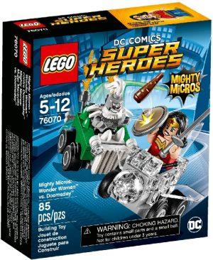 Lego Super Heroes 76070 Mighty Micros : Ihmenainen vs. Tuomiopäivä