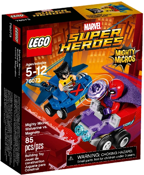 Lego Super Heroes 76073 Mighty Micros : Wolwerine vs. Magneto