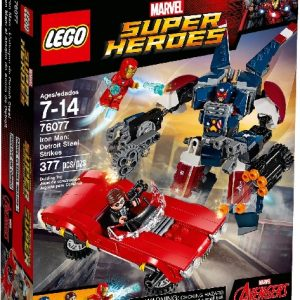 Lego Super Heroes 76077 Iron Man: Detroit Steel Iskee