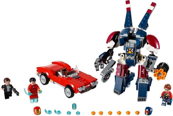 Lego Super Heroes 76077 Iron Man: Detroit Steel Iskee