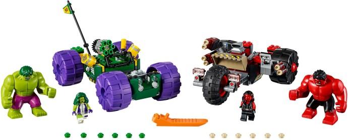 Lego Super Heroes 76078 Hulk vs. Punainen Hulk