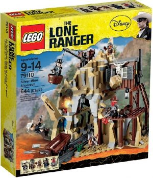 Lego Lone Ranger 79110 Yhteenotto Hopeakaivoksessa
