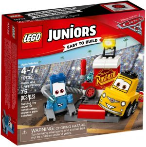 Lego Juniors 10732 Guidon ja Luigin varikko