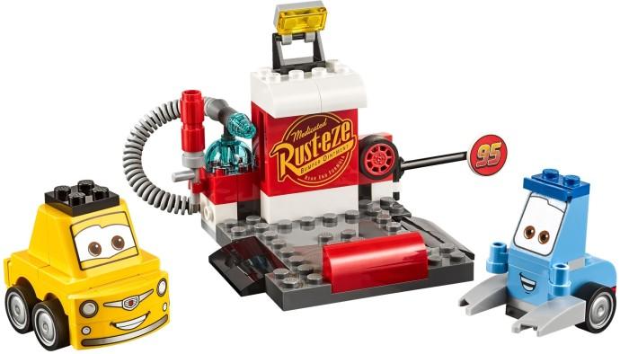 Lego Juniors 10732 Guidon ja Luigin varikko