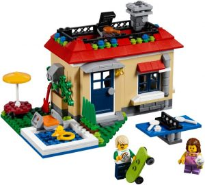 Lego Creator 31067 Lomalla Moduuliuima-altaalla