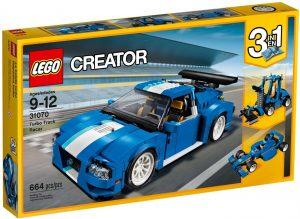 Lego Creator 31070 Turborata-auto