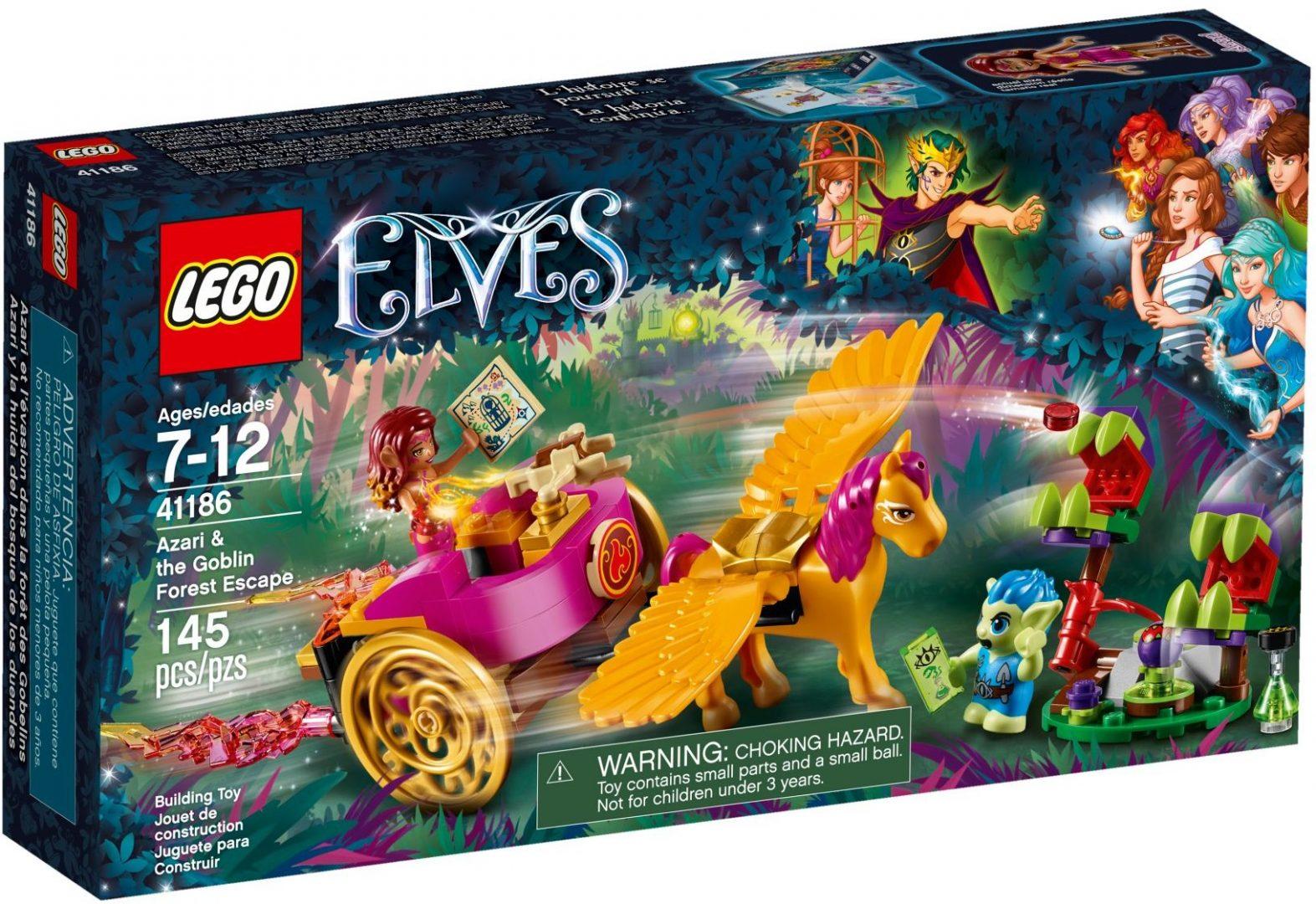 Lego Elves 41186 Azari ja Pako Peikkometsästä