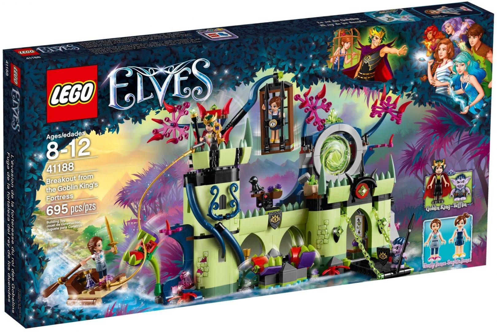 Lego Elves 41188 Pako Peikkokuninkaan Linnakkeesta