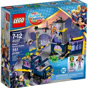 Lego DC Super Heroes Girls 41237 Batgirlin Salainen Bunkkeri