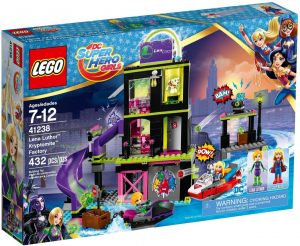 Lego DC Super Heroes Girls 41238 Lena Luthorin Kryptomite Tehdas