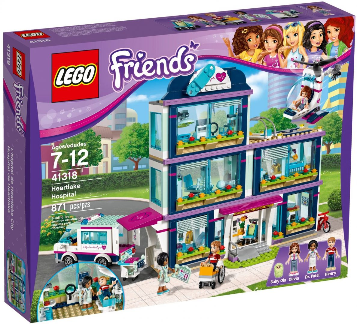 Lego Friends 41318 Heartlaken Sairaala