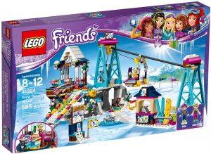 Lego Friends 41324 Laskettelukeskuksen Hiihtohissi