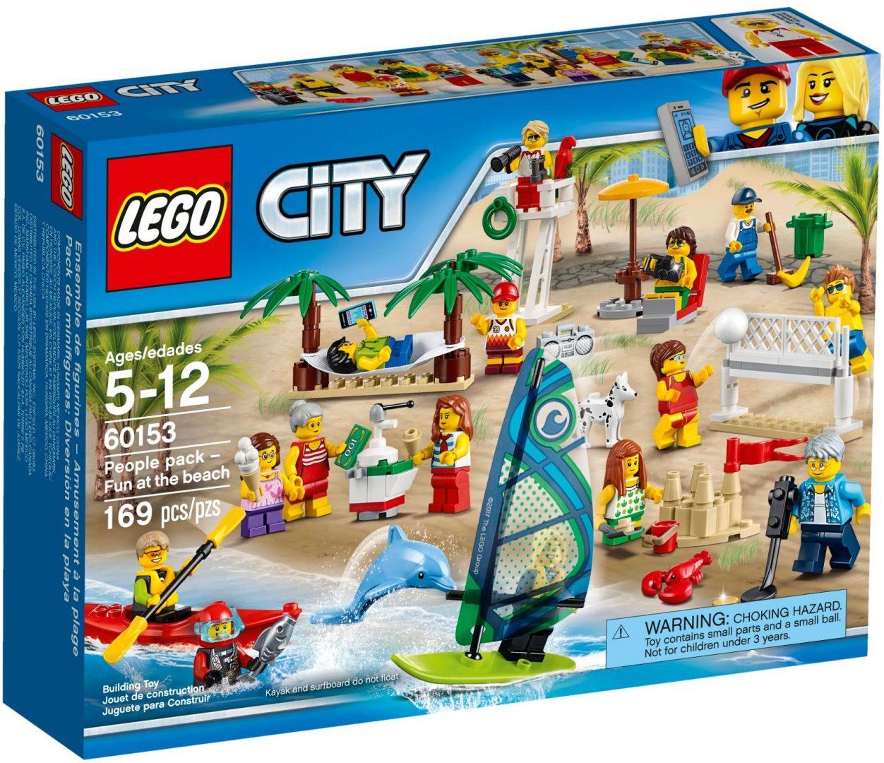 Lego City 60153 Ihmiset - Hauskaa Rannalla