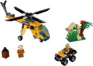 Lego City 60158 Viidakon Rahtilentokone